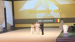 Hayatou decorated with prestigious 'Diamond of Asia' award