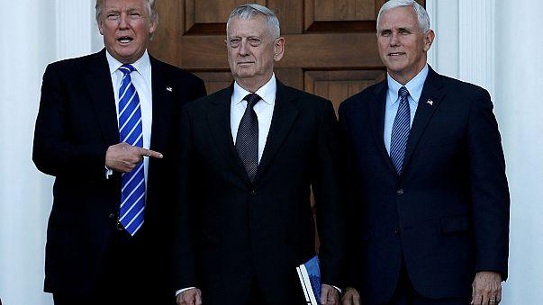 Trump names James Mattis as US defence secretary