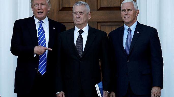 Trump names James Mattis as US defence secretary