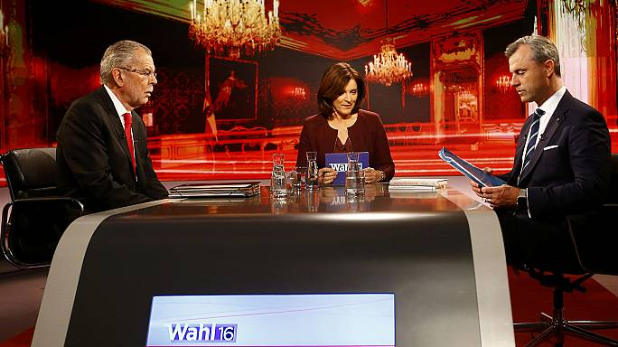 Austrian presidential debate descends into slanderous squabble