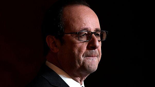 """Hollande:""""Ülke menfaatlerini önde tutuyor ve tekrar aday olmuyorum"""""""