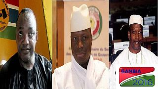Gambia election: Officials engage in a count of marbles to determine the winner