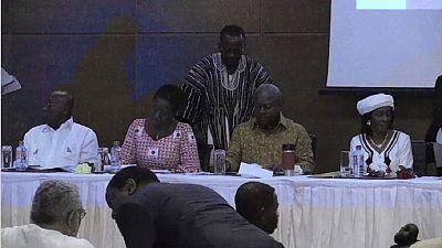 Ghana: les principaux candidats à la présidentielle s'engagent à lutter contre la violence