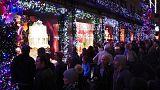 Η Νέα Υόρκη είναι έτοιμη για τα... Χριστούγεννα!