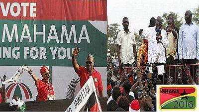 Le vote anticipé a commencé au Ghana