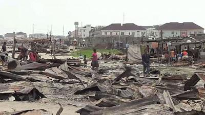 Thousands left homeless in Lagos as city revamps