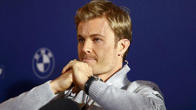 Váratlan bejelentés: visszavonul a F-1 világbajnok Nico Rosberg