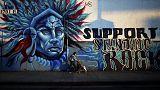 ABD: Sioux Kızılderilileri Dakota Petrol Boru Hattı projesine karşı