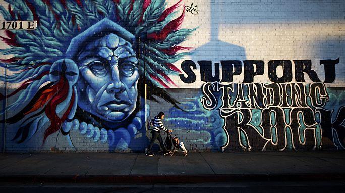 """Índios Sioux não """"desarmam"""" contra o oleoduto do Dakota do Norte"""