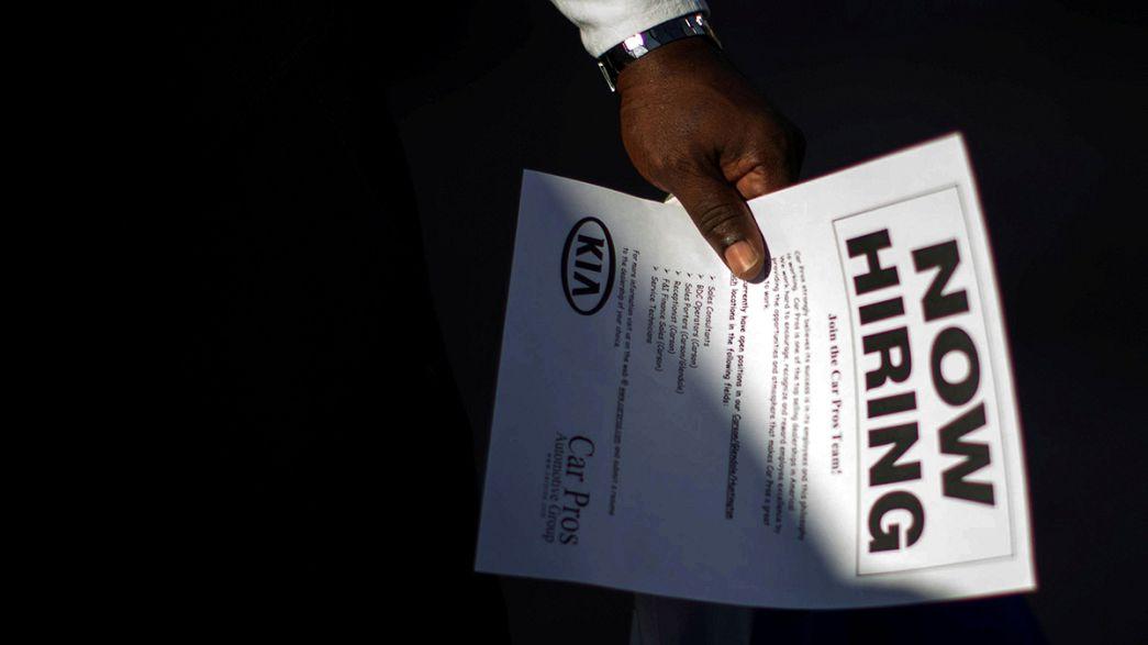 EUA: Taxa de desemprego recuou para os 4,6% em novembro