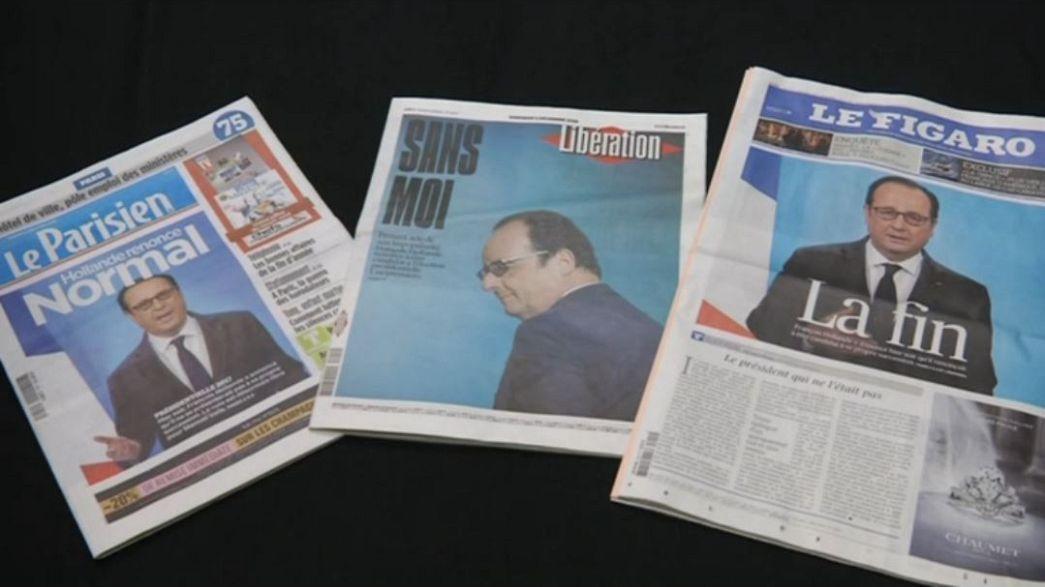 "PS francês prepara o ""pós-Hollande"""