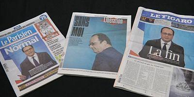 Francia, Hollande: l'82 per cento dei francesi approva la decisione di non ricandidarsi