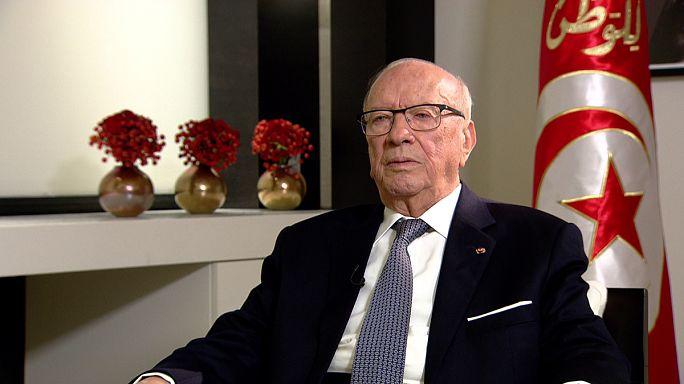"""Tunus Devlet Başkanı Essebsi: """"Arap Baharı tam olarak uygulanamadı"""""""