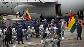 Colombia plane crash bodies head home to Brazil and Bolivia