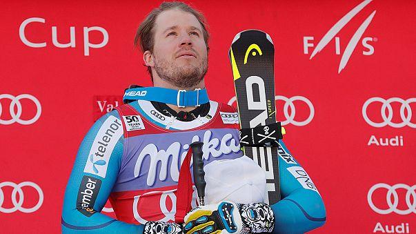 Esqui Alpino: Kjetil Jansrud vence o super-G de Val d'Isère