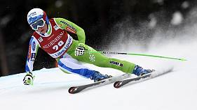 Slovenia's Ilka Stuhec secures downhill event at Lake Louise