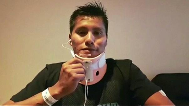 Un des six survivants du crash aérien a quitté la Colombie