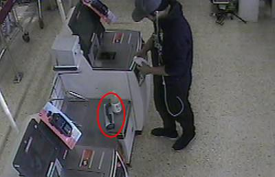 Mohiussunnath Chowdhury shopping for a knife sharpener in Sainsbury\'s on the day of the attack in August 2017.
