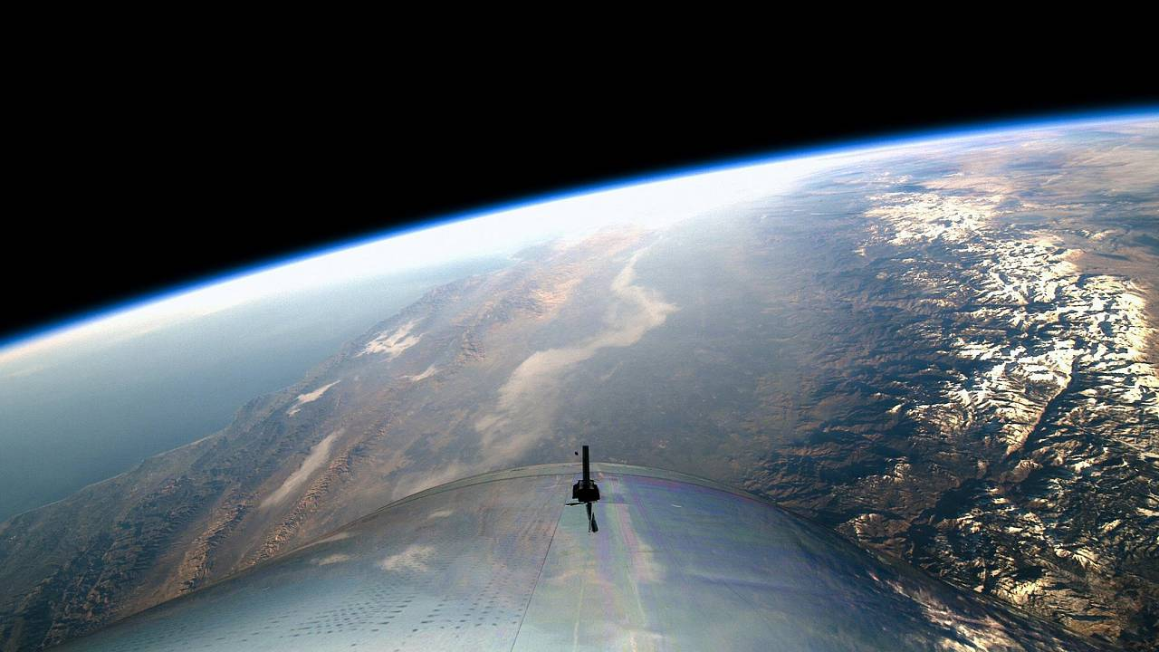 Image: Virgin Galactic's first spaceflight