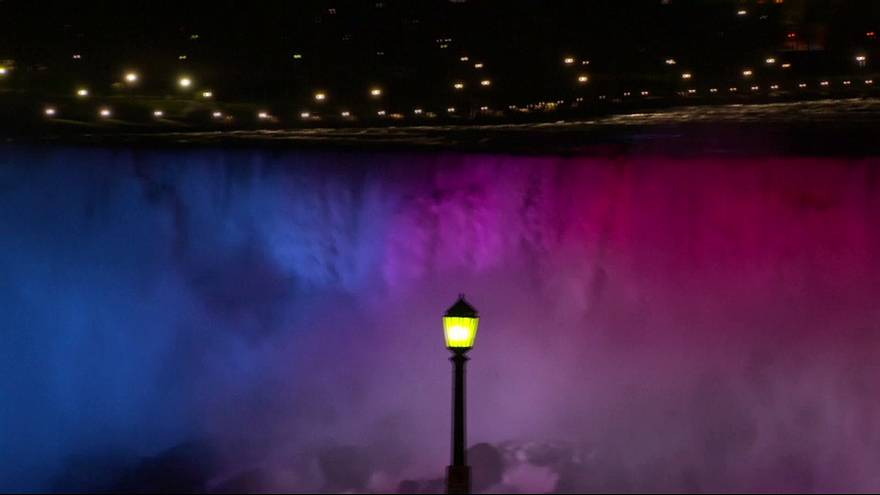 Niagara Falls and the light show makeover