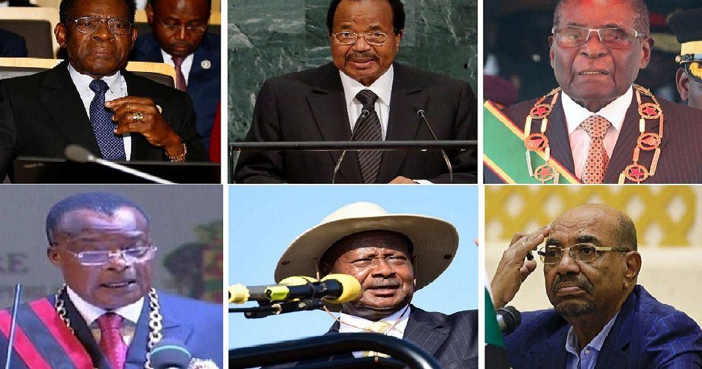 Africa's longest serving presidents still going strong ...