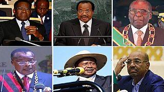 Les records de longévité des présidents africains