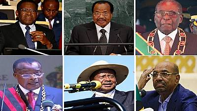 Minus dos Santos: Here are Africa's longest serving presidents still going strong