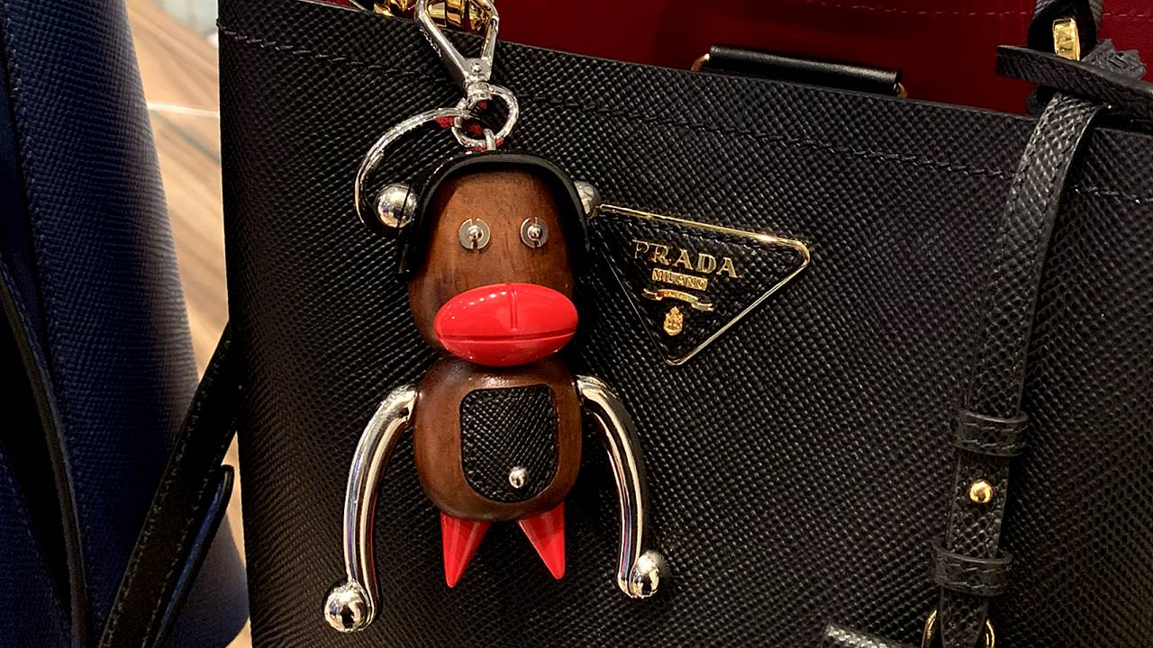 Prada is being accused of blackface and racism for its monkey-like trinkets