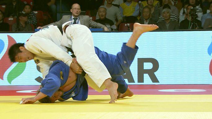 Los judokas japoneses siguen mandando en el Grand Slam de Tokio.