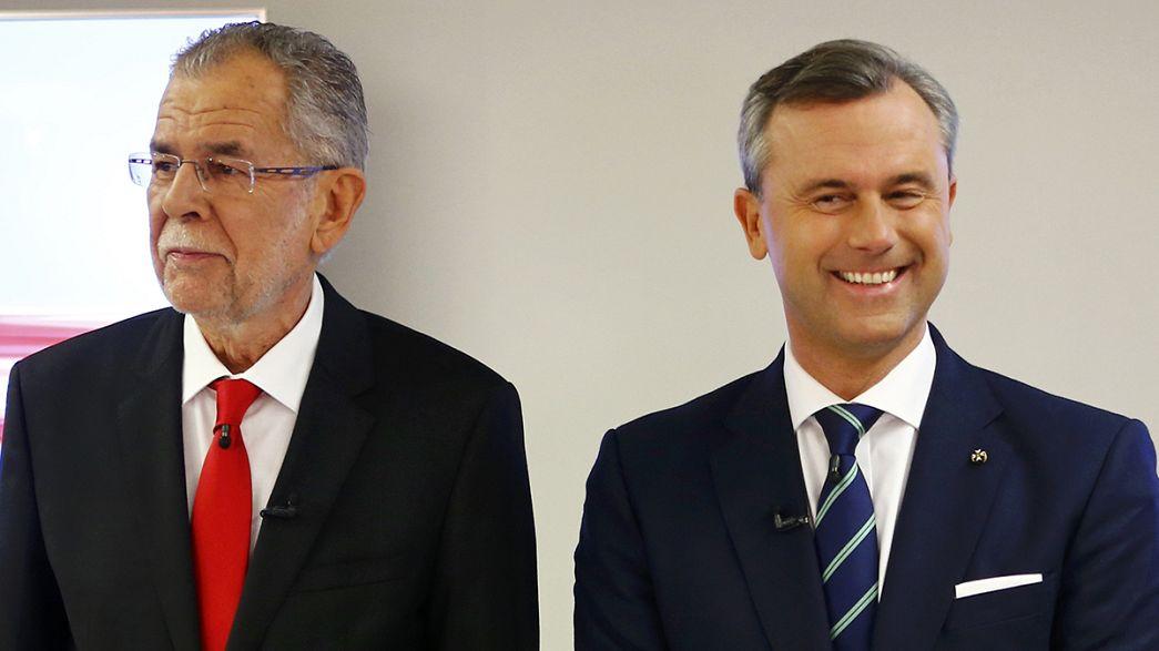 Autriche : Hofer et van der Bellen rejouent le deuxième tour de la présidentielle