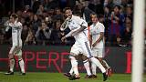 Sergio Ramos earns Real Madrid a point at Barcelona in El Clasico