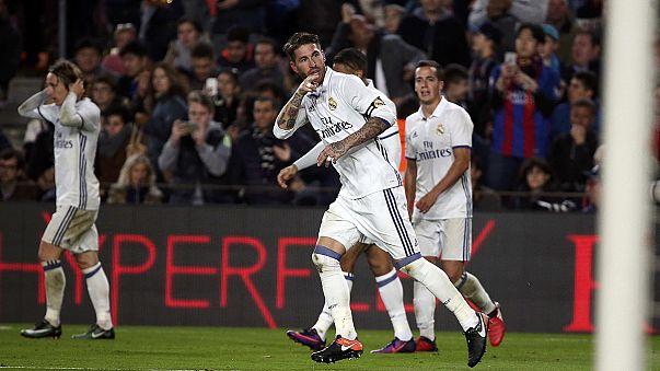 El Clásico in Barcelona: Real gleicht in letzter Minute aus