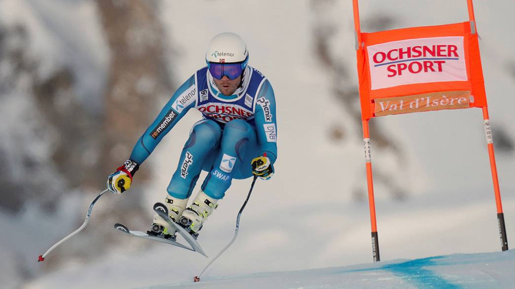Kjetil Jansrud makes a super start to World Cup downhill
