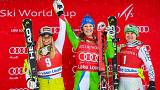 Double joy for Slovenia's Ilka Stuhec in Lake Louise downhill