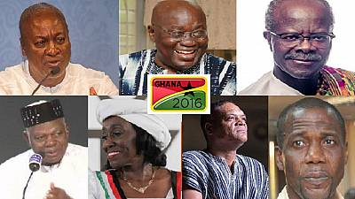 Ghana votes on December 7 – Meet the 7 presidential candidates