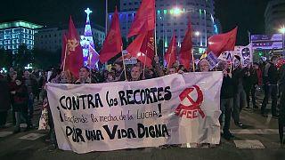 Espagne : première manifestation contre le gouvernement
