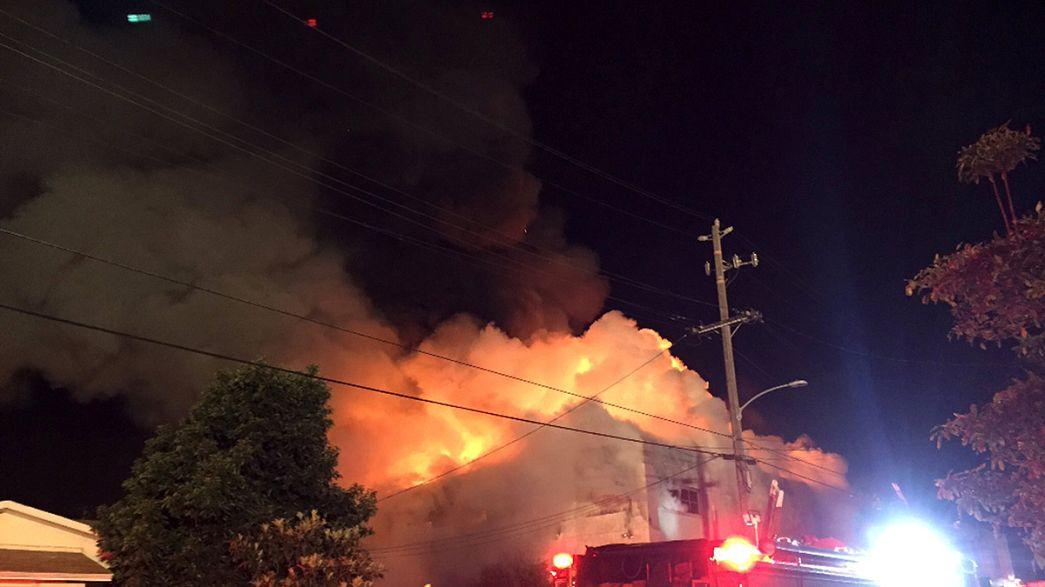 Incendie à Oakland: le bilan risque de s'alourdir