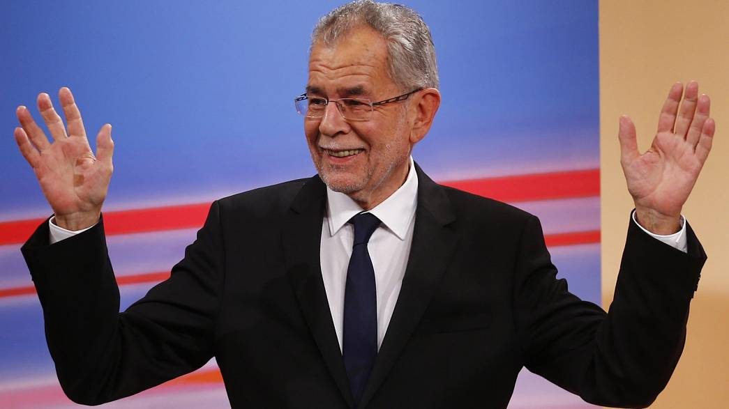 Ван дер Беллен хочет стать президентом для всех австрийцев