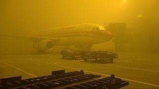Cina: una coltre di nebbia e smog