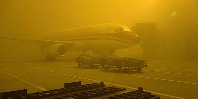 الضباب الكثيف الناتج عن التلوث يخيم على مناطق واسعة من الصين