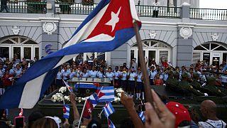 Fidel Castro's ashes laid to rest in Santiago de Cuba
