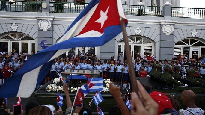 Las cenizas de Castro reposan para siempre en el cementerio de Santa Ifigenia de Santiago de Cuba