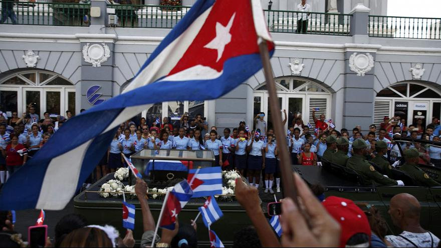 Fidel Castro's ashes laid to rest in Santiago de Cuba