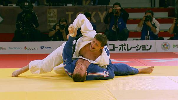 Judo : Axel Clerget et Cyrille Maret en argent