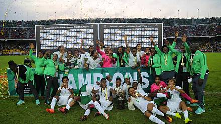 Late Oparanozie strike hands Nigeria eighth title