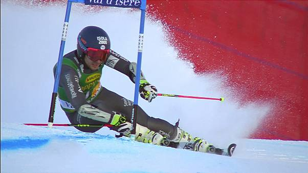 Home hope Faivre wins Val d'Isere giant slalom as French skiers dominate top five
