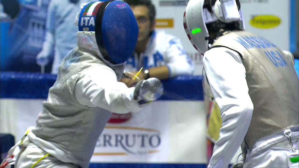 Итальянский рапирист Алессио Фокони выиграл Гран-при в Турине