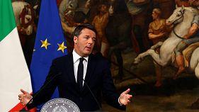 """Italia: dimite Matteo Renzi tras la victoria del """"no"""" en el referéndum sobre la reforma constitucional"""