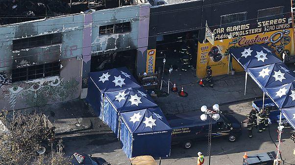 33 morts : le bilan de l'incendie d'Oakland ne cesse de s'alourdir