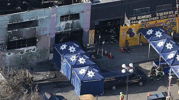 USA: Jetzt über dreißig Tote nach schwerem Brand von Oakland